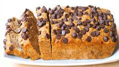 I love a good banana bread recipe!  And the chocolate makes it 10x better!  Healthy Banana Bread – Soft & Delicious