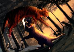 Blood Now Rules the Forest by Urnam-BOT on deviantART
