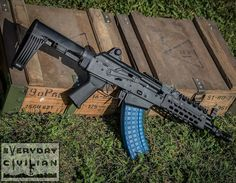 from - Introducing SL-K! Our new pistol built in-house using Polish WBP parts kits, Morrissey receiver, Polish FB Radom chromed CHF barrel. Stay tuned for pricing and release date! Krebs Custom, Ak Pistol, Hunting Rifles, Cool Guns, Assault Rifle, Self Defense, Survival Gear, Firearms, Weapons
