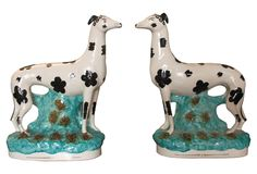 Staffordshire Whippets, 19th C