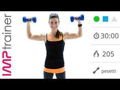 Esercizi Per Snellire e Tonificare le Braccia (allenamento completo) - YouTube