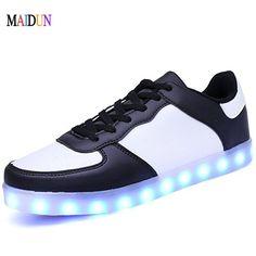ballroom LED shoes 11 Colors chaussures Unisex usb Charging Led Lights shoes Dancing Men couple sport dance Shoes sneaker Dance