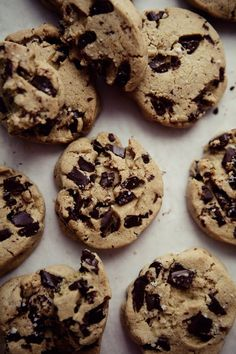 Gluten-Free Chewy Chocolate Chip Cookies. This one is for you Melissa!
