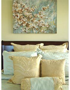 Tie It All In - beautiful bedroom design