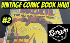 Vintage Comic Book Haul #2 | January 2016 Ep. 2 | Daredevil | Bergen Pic...