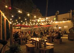 Breathe in the fresh air while eating on the patios of these hot spots.