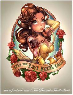 Disney pin up tattoo?! I want!