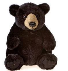 Clip On Huggy Stuffed Panda Bear By Fiesta Bears Plush Bears And