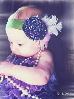My daughter Sawyer's Flapper Baby Costume :)