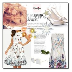 """Rosegal 52"" by dilruha ❤ liked on Polyvore"