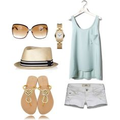 """""""beach chic"""" by emilysac on Polyvore"""