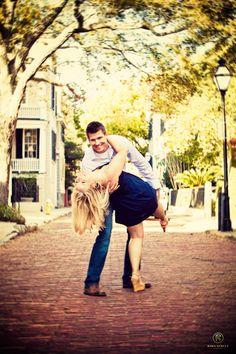street enagement photos | Wedding Engagement Photos - Kelli + Jesse - King Street Studios