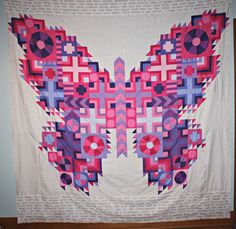 Tula Pink Butterfly Quilt - pattern available August 2013