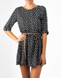 #Vestido estampado pajaritos birds Double Agent por 24€ en www.doubleagent.es #dress #fashion #clothing
