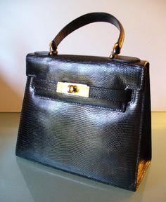 Vintage Lederer Made in France Kelly Bag by TheOldBagOnline
