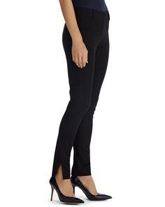 Ultra Stretch Instantly Slimming Black Pant - White House | Black Market Signature Logo, Long Sweaters, Welt Pocket, Black Pants, Stretches, Slim, Legs, House, Fashion