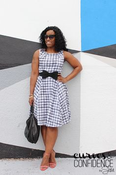 Curves and Confidence | A Miami Style Blogger: Mad for Plaid