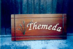 Home Wooden Signs, Custom Wooden Signs, House Signs, Wooden House, Hand Carved, Carving, Rustic, Simple, Handmade