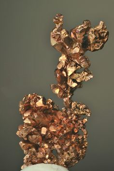 crystalline_copper  (Man Made?)  copper crystals dendrite