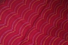 SALE 25% OFF Aboriginal 100 Percent Quality Cotton - M and S Textiles Australia Kangaroo Fan Maroon - $2.24 USD
