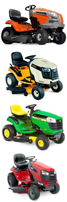 4 Riding Lawnmowers less than $2000... @Popular Mechanics