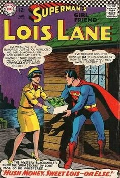 The horrific time that Superman blackmailed her… | 21 Strange And Offensive Things That Happened To Lois Lane