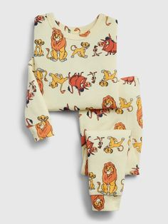 Long sleeves with banded cuffs. Elasticized waist at pants. Easy pull-on waist. Disney Baby Clothes Boy, Funny Baby Clothes, Nursing Clothes, Disney Babies, Babies Clothes, Children Clothes, Lion King Baby, Disney Lion King, Disney Outfits