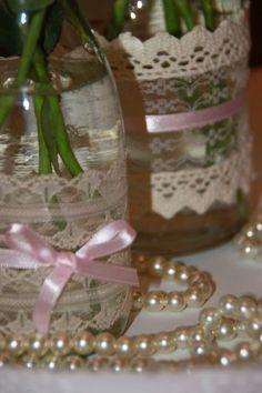 Ankerwerfer, Wedding Deko, Hochzeit, Vintage, Rosen, creme, rosa, DIY