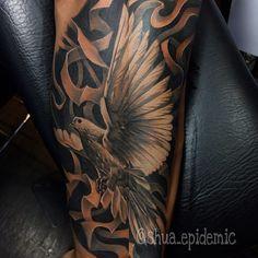 "704 Likes, 4 Comments - Fajar Prasetya (@shua_epidemic) on Instagram: ""#dovetattoo  #tattoo #tattoos #blackandgrey #blackandgreytattoo #balitattoo #balitattooshop…"""