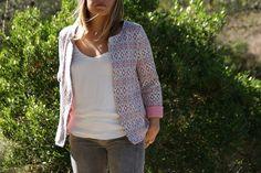 44937501c9bd5 Gilet Monceau,sewing pattern couture veste Monceau, Patron Couture, Doudou,  Automne Hiver
