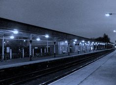 Chesterfield Platforms At Night