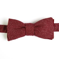 Nœud papillon Peau de requin Bordeaux Burgundy sharkskin Japanese bow tie