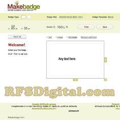 makebadge.com - creador de tarjetas de presentación online