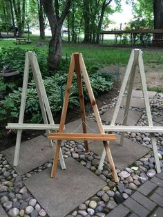 Your place to buy and sell all things handmade White Distressed Cedar Wood Easel Medium Handmade Wedding Decorations, Diy Easel, Diy Wedding Backdrop, Wedding Welcome, Decoration Table, Wedding Signs, Rustic Wedding, Cedar Wood, Backdrops