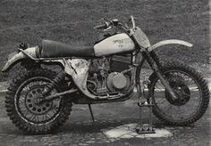off road vintage motorcycle