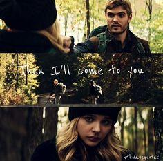 Don't I always find you. Cassie and Evan #the5thwave instagram #cassiesulivan #evanwalker