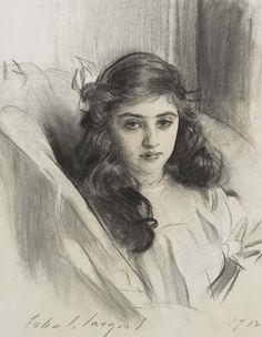 Rosie Marie-Louise Derenburg John Singer Sargent