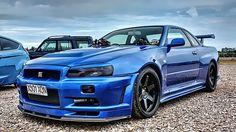 Nissan Skyline GT-R sex noises - Today Pin Nissan Gtr R34, Nissan Skyline Gt R, Skyline Gtr R34, Tuner Cars, Jdm Cars, Honda S2000, Honda Civic, Mitsubishi Lancer Evolution, Japanese Cars
