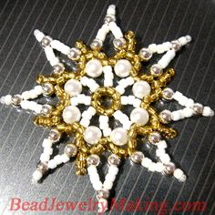 Holiday Stars and Snowflakes Jewelry Part 3