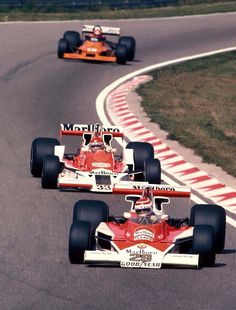 Nelson Piquet | B&S Fabrications / McLaren M23 & Brett Lunger | B&S Fabrications / McLaren M26 | Dutch Grand Prix