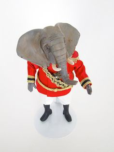 Emperor Elephant 1:12 Scale Collectible Miniature Animal Doll