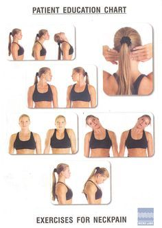 1000+ images about Exercises for Neck on Pinterest | Neck ...