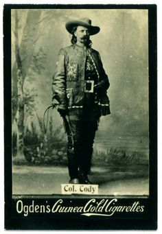 Cigarette Card - Buffalo Bill Cody