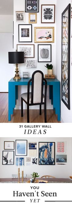 A Million and One Ways to Hang a Gallery Wall