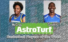 Lander's McCray, Smith Take PBC AstroTurf Player of the Week Honors