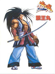 haomaru | ... Albums > Miscellaneous SNK Artwork > Samurai Shodown 64 - Haohmaru