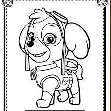 Resultado de imagen de dibujos de patrulla canina para colorear