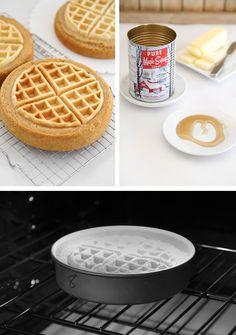 Maple Belgian Waffle Cake | Sprinkle Bakes