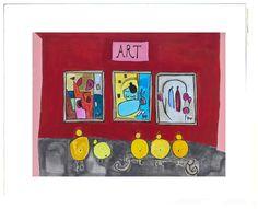 The Little Chicks of Paris™ Children's Collection by artist, Beth Moutrey. Original art work for nurseries and children's rooms. Original Artwork, Fine Art Prints, Paris, Collection, Montmartre Paris, Art Prints, Paris France