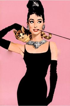 """A take on Audrey Hepburn's character as Holly Golightly. I recently watched that which was titled """"Holly Golightly"""". The acting was atrocious and verging on the ridicously movies that Elvis Presley made. However, it was a FUN movie to look back on just to see the fashions and scenery. TG"""